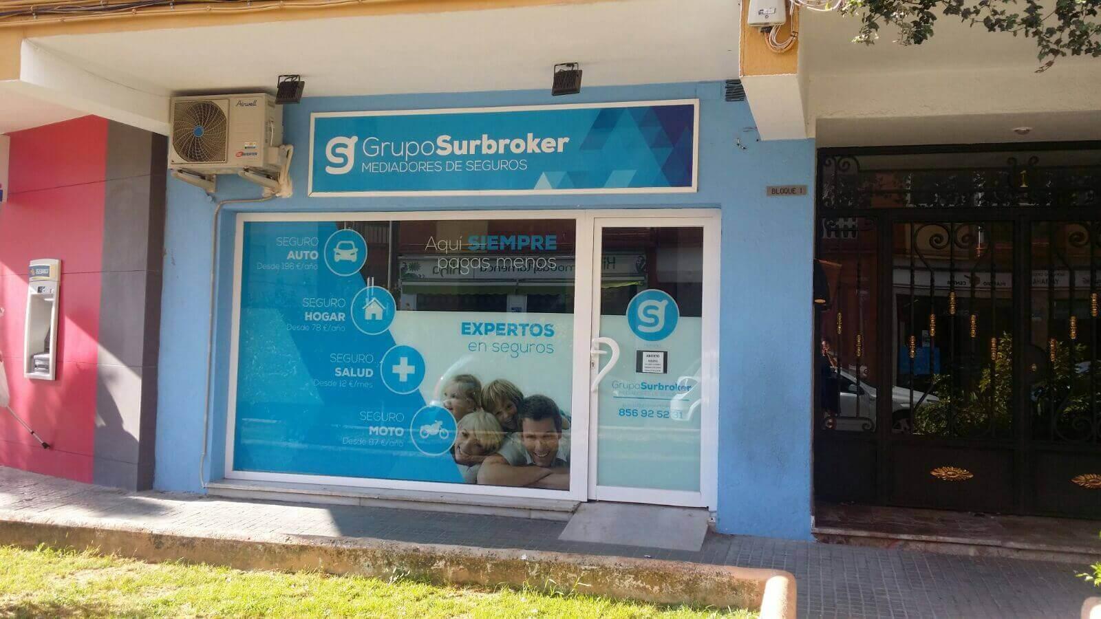 Oficina de Grupo Surbroker Mediadores de Seguros en El Puerto de Santa María