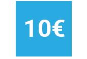 10 euros icono